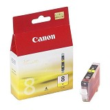 CANON Yellow Ink Cartridge [CLI8Y] - Tinta Printer Canon